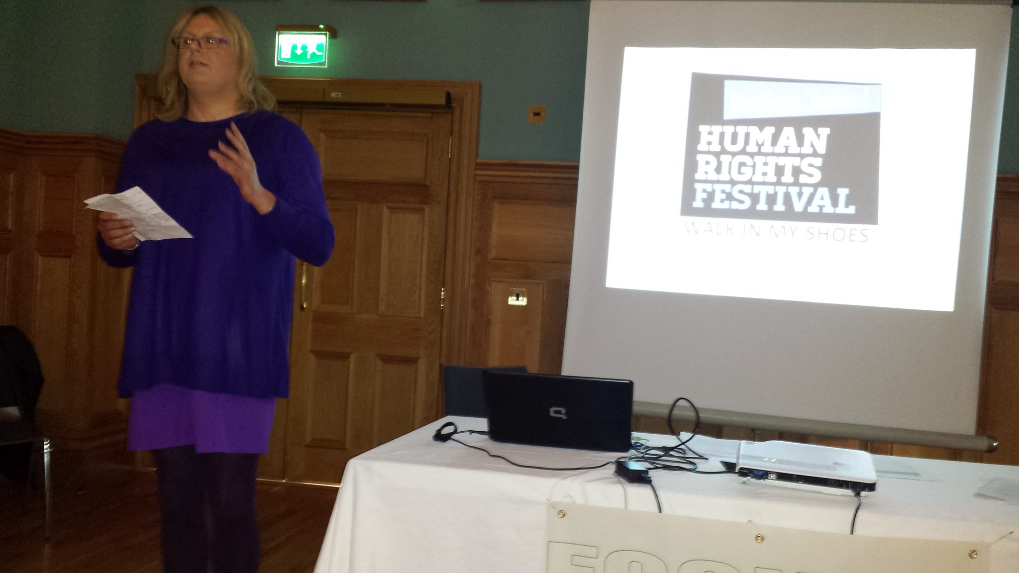 Focus: The Identity Trust Human Rights Conference, Guildhall Derry/Londonderry