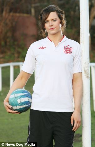 Transgender woman BANNED from playing for ladies' football team for two years