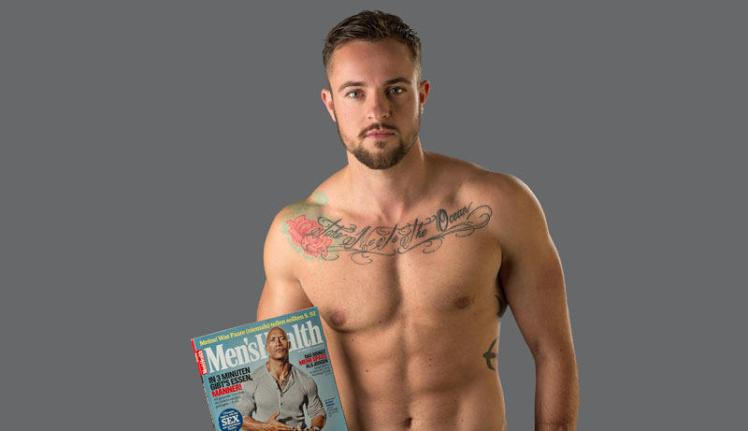 This week, Benjamin Melzer became the first transgender man to appear on the cover of Men's Health in Europe.