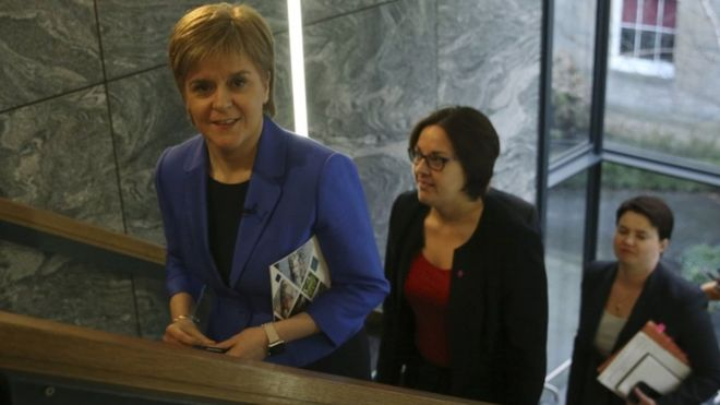 Nicola Sturgeon has promised to review and reform gender recognition law for transgender people