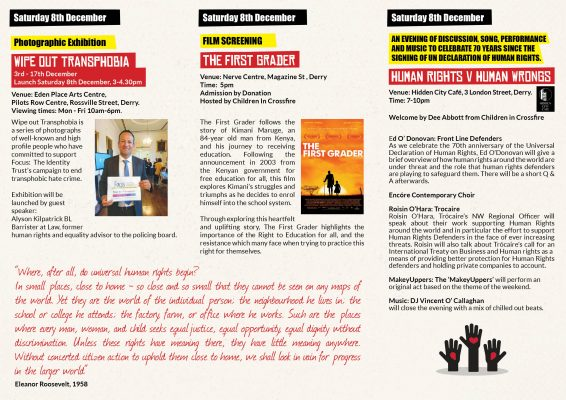 Human rights 2018 leaflet