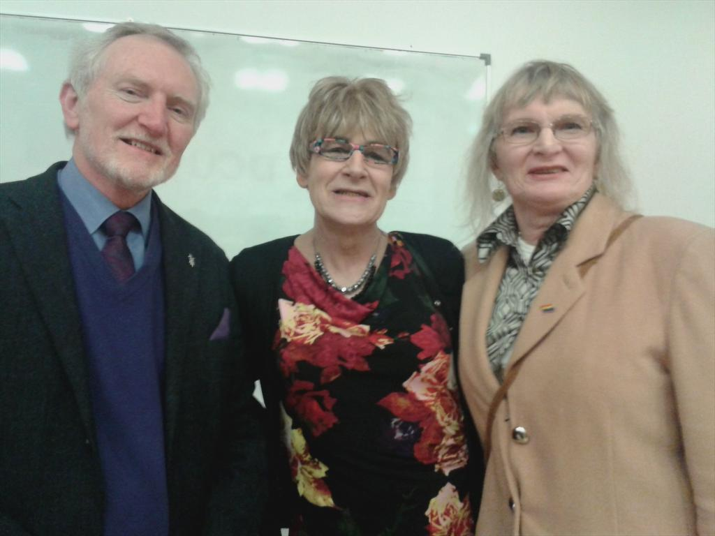 Dr Lydia Foy and Michael Farrell