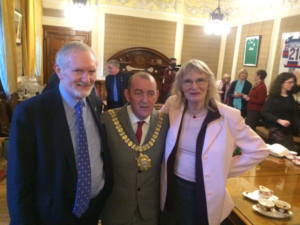 Lord Mayor Lydia and Michael