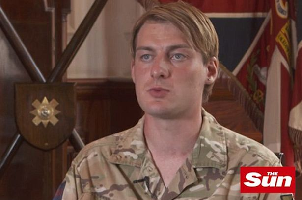 Transgender soldier becomes first female to fight on front line for British Army