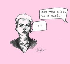 non binary-tomboy-girl-gender-studies