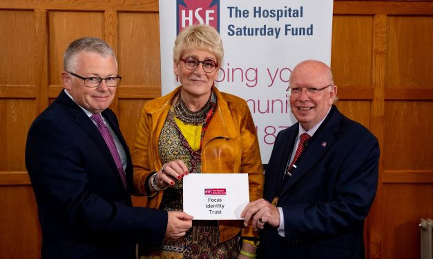 Northern Ireland Charities receive donations from The Hospital Saturday Fund
